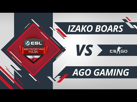 Izako Boars vs AGO Gaming | EMP CS:GO Kolejka #5 Mapa #1