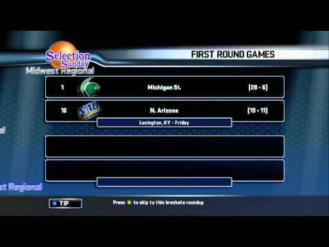 Selection Sunday (College Hoops 2K8)