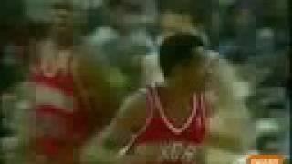 Allen Iverson 44pts vs Michael Jordan & Scottie Pippen Chicago Bulls 96/97 NBA Rookie