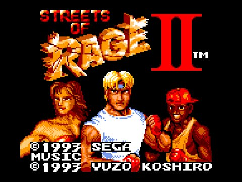 Game Gear Longplay [042] Streets of Rage II
