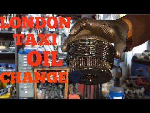 London Taxi Lti Tx2 Engine Oil Change