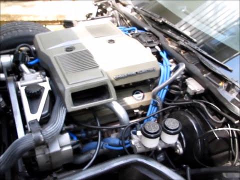 1984 Corvette  brief restoration update at 2 1/2 years into it