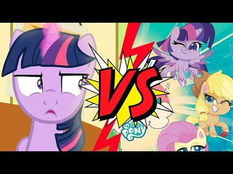 MLP VS Pony Life ( Fan Animation ) M6 Reaction.