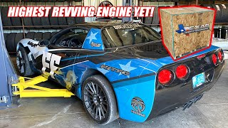 Unboxing Donnie The Drift Car's New MOON REVVING Solid Roller Texas Speed Engine!! (very spicy)