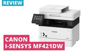 printerland Review: Canon i-SENSYS MF421dw A4 Mono Multifunction Laser Printer