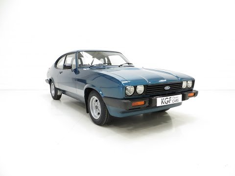 An Incredible Ford Capri 3.0S with 28,980 Miles and Amazing History - SOLD!