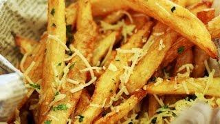 Fries Recipe   How To Make Crispy Garlic Fries