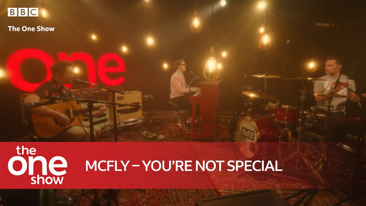 McFly –You're Not Special (Live on The One Show)