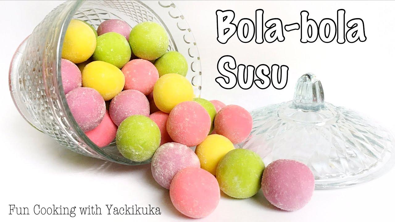 Ide Kue Lebaran Bola Bola Susu Milk Balls Cookies Youtube