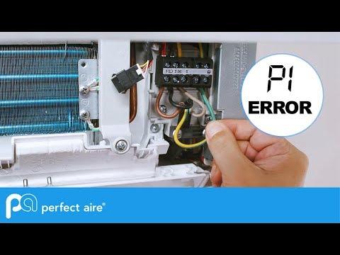 P1 Mini-Split Error Code – Perfect Aire