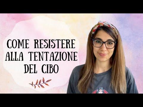 Come RESISTERE alla TENTAZIONE del CIBO quando sei a casa