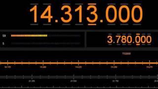 VE7KFM Melt Down on 14.313mhz