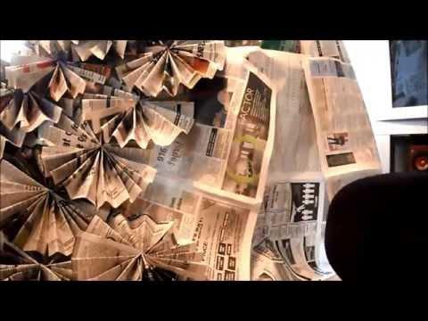 Newspaper Dress DIY