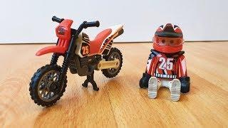 Мини мото байк для детей Сборка нового игрушечного мотоцикла
