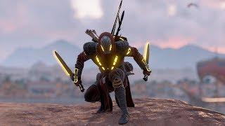 Assassins Creed Origins Stealth Gameplay & Action kills (Playstation 4)