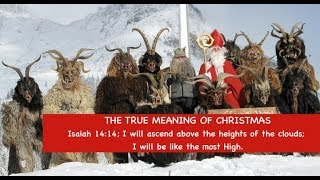 the true meaning of christmas isaiah 1414