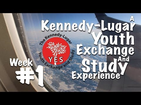 """Journey to the United States!"" - Malaysian KL-YES Student Exchange Experience, Vlog #1"