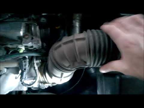 Throttle body cleaning Volvo S60 non turbo - only for 2003-2009