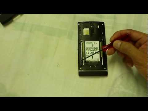 Sony Xperia S changeable battery modification