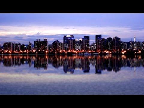 Photoshop Cs6 Water Reflection Effect Tutorial On Gangnam River Han