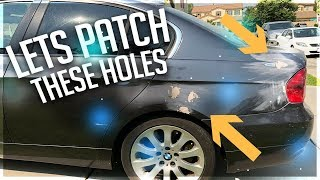 Rebuilding BMW 335i Involved In Gun Fight! Part.8
