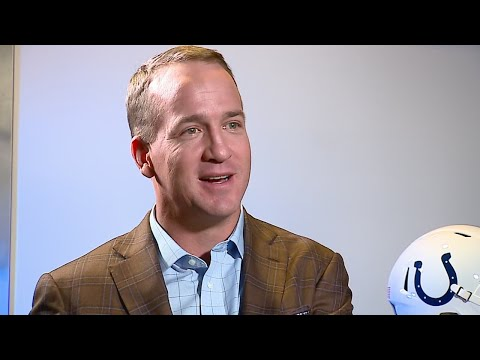 Peyton Manning discusses Andrew Luck