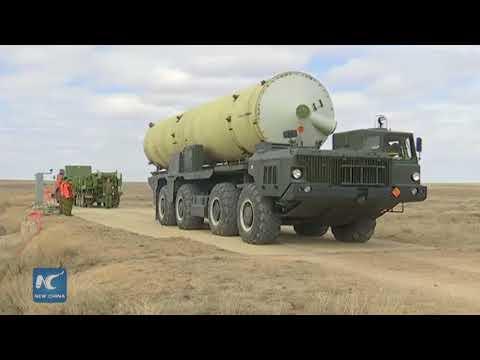 Russia unveils new missile defence system to protect Moscow