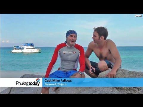 Exploring Phuket's marine scene with Capt Mike of Blueworld Safaris
