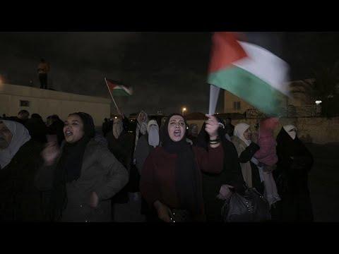 Donald Trump'ın 'Yüzyılın Anlaşması'na Ürdün'de protesto
