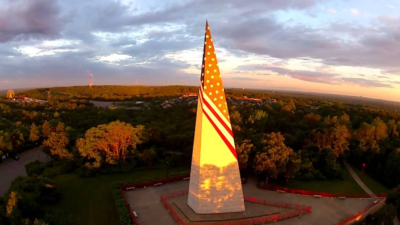 Video Takes Aerial View Of Farmingville Vietnam Memorial Newsday