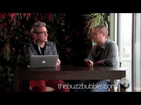 Tony Hsieh Interview -- Customer Service, Delivering Happiness -- Part 1 on The BuzzBubble