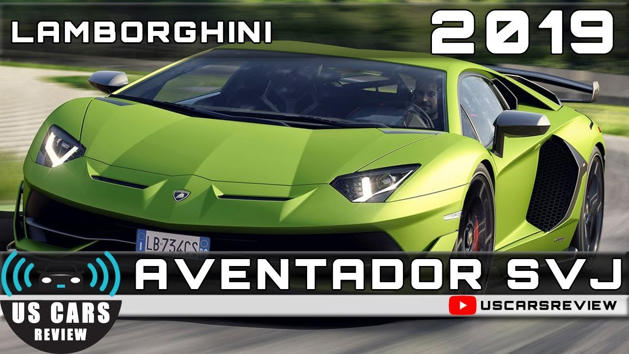 2019 Lamborghini Aventador Svj Review Youtube
