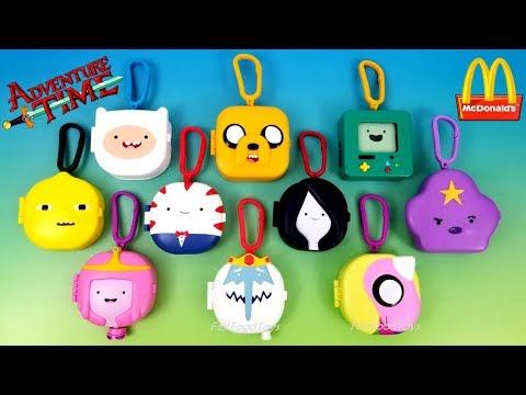 2017 Full World Set Mcdonald S Adventure Time Happy Meal