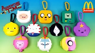 2017 FULL WORLD SET McDONALD'S ADVENTURE TIME HAPPY MEAL TOYS CARTOON NETWORK EUROPE ASIA COLLECTION