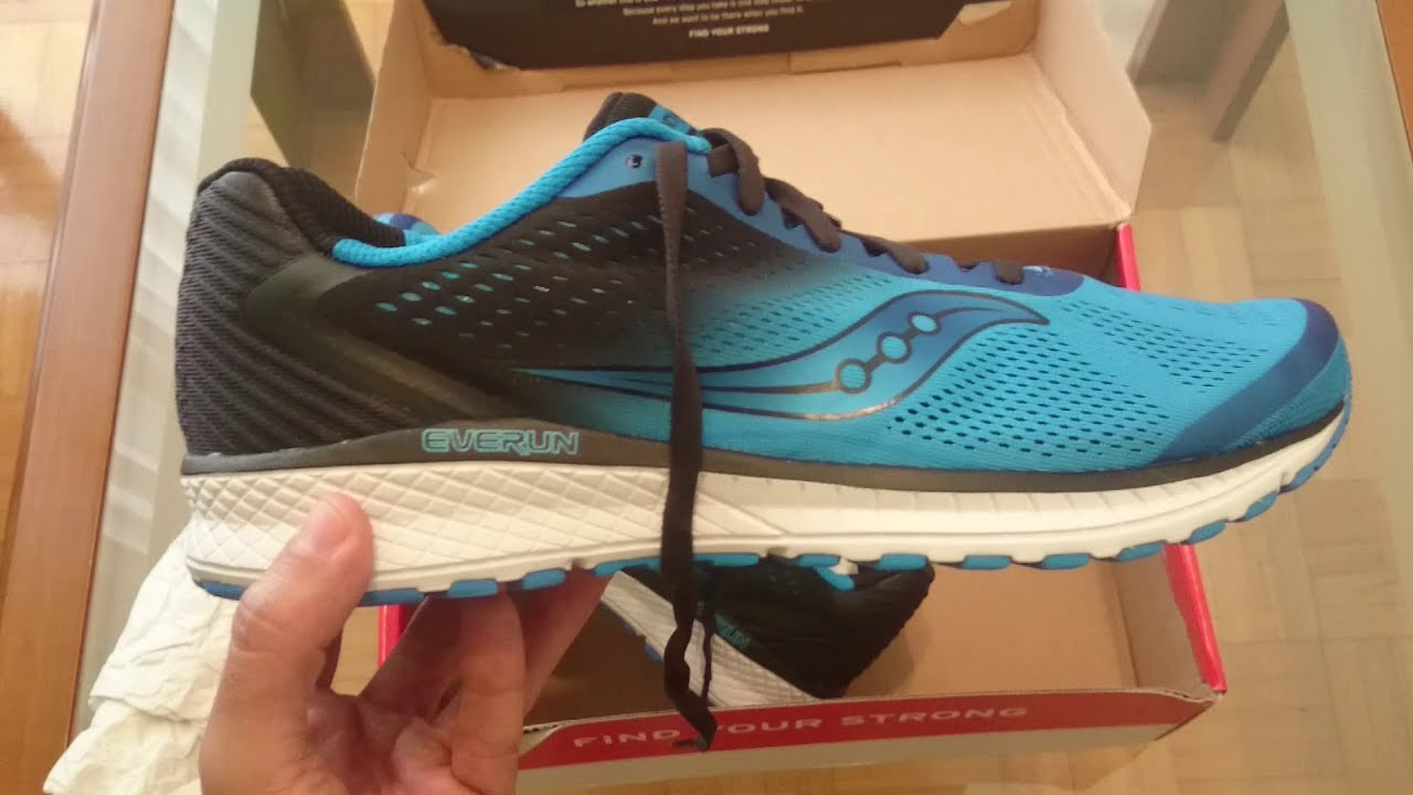 770cc332b8c60 Saucony Breakthru 4 unboxing and first look (S20419-2)