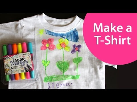 How To Design A T Shirt Craft Show For Kids Youtube