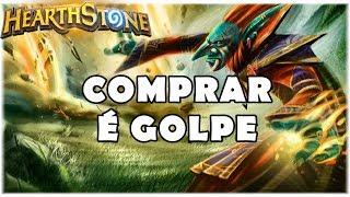 HEARTHSTONE - COMPRAR É GOLPE! (STANDARD BIG SPELL MAGE)