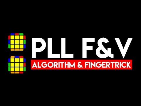 PLL F & V - Algorithm & Fingertrick