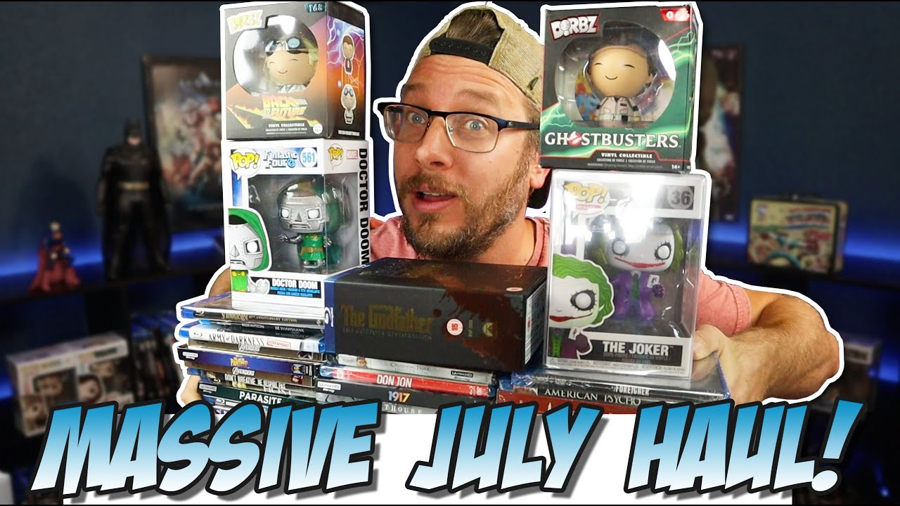 Blu-Ray & Funko Pop Haul July 2020!