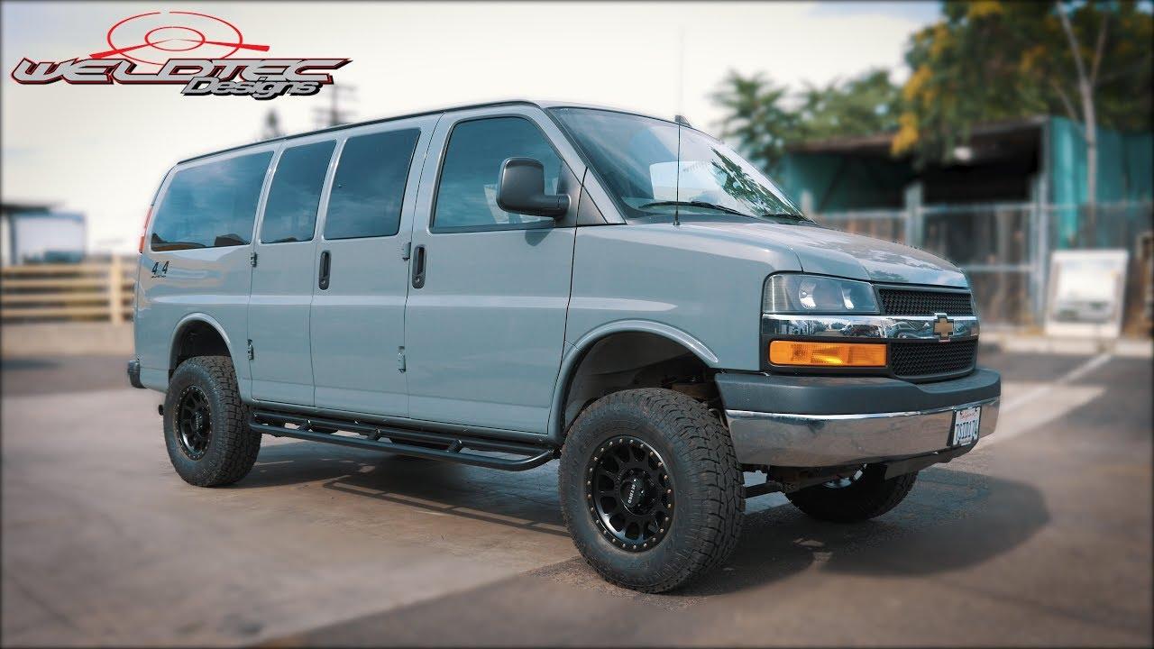 Chevy Express Van >> Chevy Express Van Tour Passenger Van Conversion 4x4