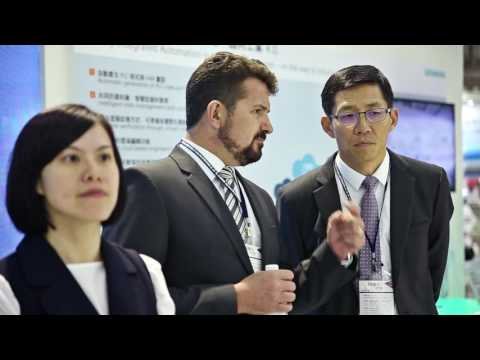 Siemens at Taipei Int'l Industrial Automation Exhibition