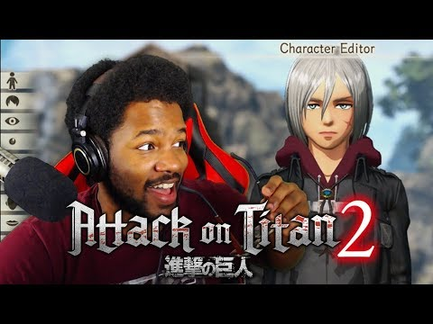 CaC LOOKING LIKE A SNACC! (NEW Character Creation) Attack On Titan 2 PS4 + ANNIHILATION MODE