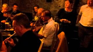 MAC & BRUCE PLAY IN AN IRISH MUSIC SESSION IN WATERFORD SOUTHERN IRELAND