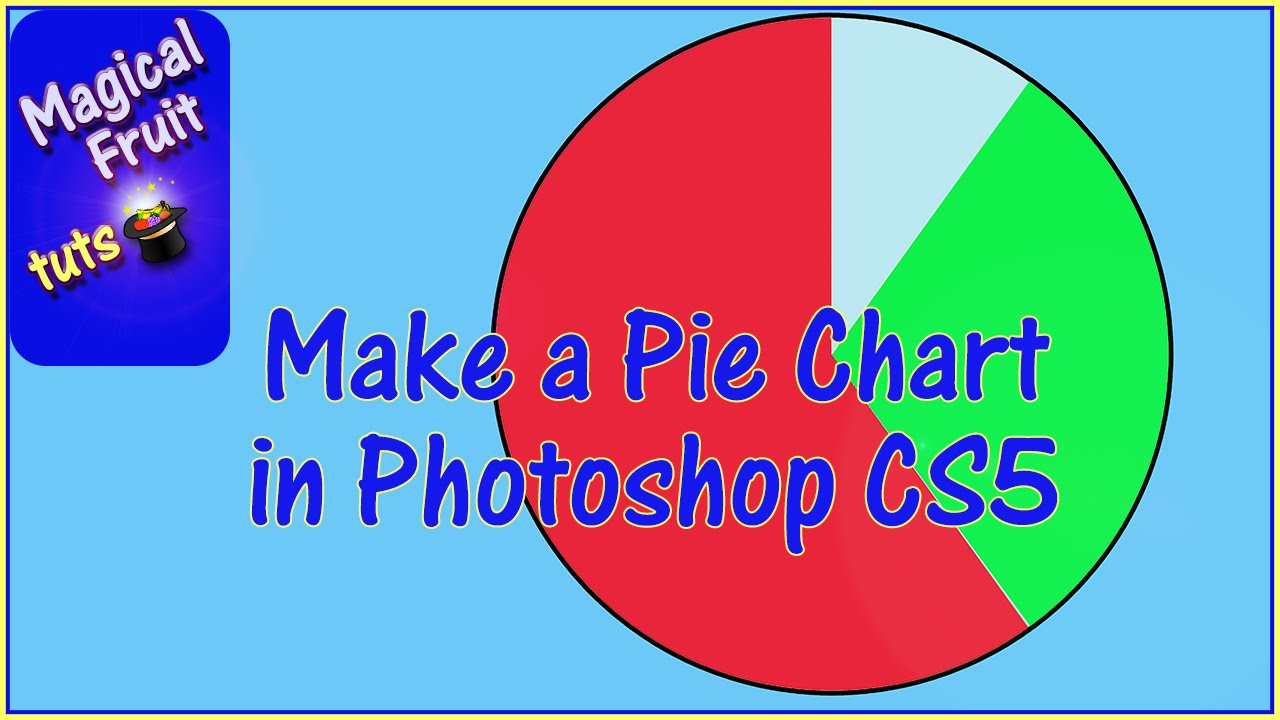 Make a pie chart in photoshop cs5 youtube nvjuhfo Images