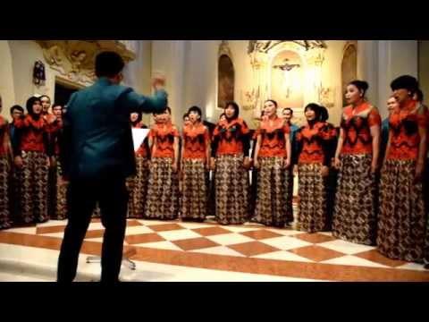 O Lux Beata Trinitas (Ko Matsushita) - PSM Undip / Diponegoro University Choir