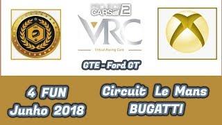 GTE - Ford GT - Circuito Le Mans BUGATTI