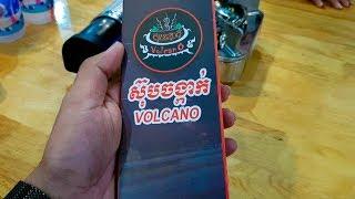 Asian  Street Food | ស៊ុបចង្កាក់ VOLCANO | Poipet Cambodia