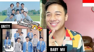 Download UN1TY - 'BABY' M/V   REACTION (i'm in Loveee)   Indonesian Pop