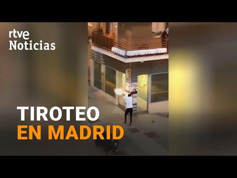TIROTEO en plena calle en MADRID por un presunto CHOQUE de BANDAS latinas I RTVE Noticias