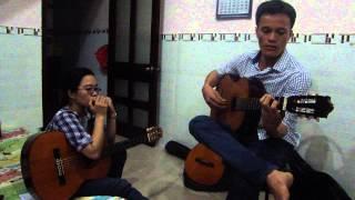 Silent Night - Guitar Châu Lộ Lang ft. Harmonica Ca Dao